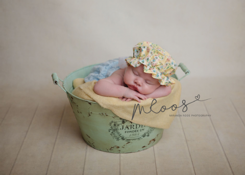 Newborn Mop Cap ~ many colours